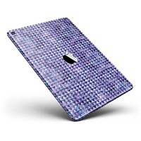 """Purple Textured Triangle Pattern Full Body Skin for the iPad Pro (12.9"""" or 9.7"""" available)"""