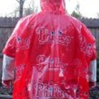 lightweight stadium poncho Philadelphia Phillies