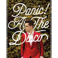Panic! At The Disco Brendon Hedges Poster