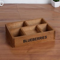 Wooden Storage Box Home Decor Creative Home & Living [6282623814]
