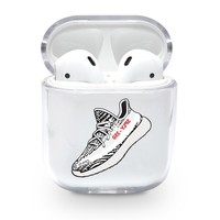 Large Yeezy 350 Zebra Airpods Case