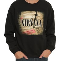 "Nirvana CASSETTES ""TAPES"" Pullover Sweater Sweatshirt 100% Authentic"
