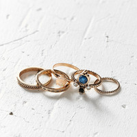 Solstice Stone Ring Pack | Urban Outfitters