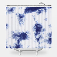 Electric Current Shower Curtain
