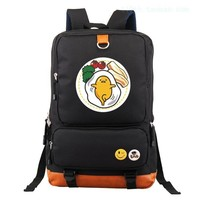 Japanese Anime Bag  gudetama Cosplay  backpack male and female students large capacity leisure backpack child birthday gift AT_59_4