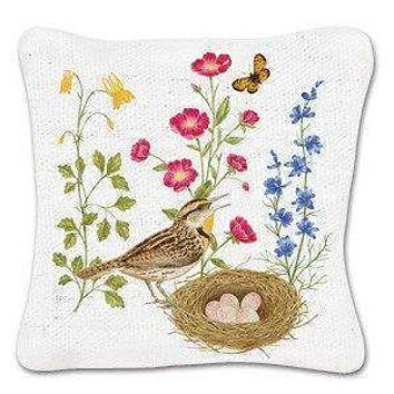 Set of 3 Bird with Nest Gift Boxed Lavender Sachets