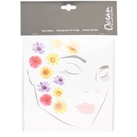 Flower Face Stickers