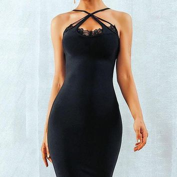 Hazeline Bandage Dress