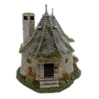 Department 56 House HAGRID'S HUT Polyresin Harry Potter 6002312