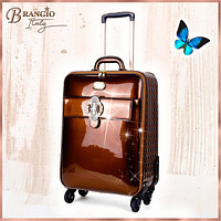 Queen's Crown Suitcase Getaway Travel Luggage Spinner Wheels