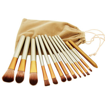 2016 New Professional NAKED Brand Makeup Brushes12 Pcs Brush kit Sets for Eyeshadow Cosmetic Brushes Tools pincel maquiagem