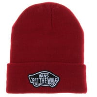 Red Vans Off The Wall Winter Beanies Truck Cap Knit Hat Unisex Plain Warm Soft Beanie Skull Knit Cap Hat Knitted Vans Shoes Beanie