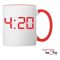 420 Four Twenty Weed THC Coffee & Tea Mug