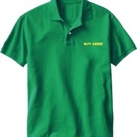 Chuck Buy More Electronics Store Employee Green Costume Tee Polo