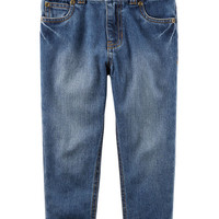 5-Pocket Straight Jeans