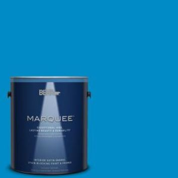 BEHR MARQUEE, 8 oz. #MQ4-57 Celebration Blue Interior/Exterior Paint Sample, MQ30316 at The Home Depot - Mobile