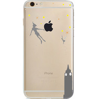 Disney Peter Pan Jelly Clear Case For Apple Iphone 6/6s (4.7-Inch)