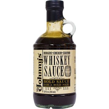 Johnny's Whiskey Sauce, 12 Ounce