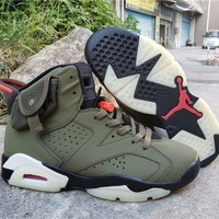 Travis Scott x Air Jordan 6 AJ6TS 3M 40-47