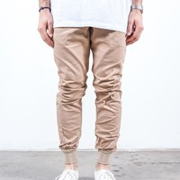 Almond Twill | Sunset Jogger