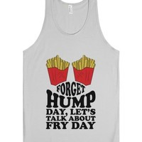 Let's Talk about Friday-Unisex Silver Tank