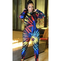 felainse19 hot style hot sale women's long-sleeved sexy jumpsuit