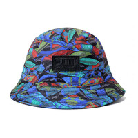 BLUE GARTER Bucket Hat (REVERSIBLE)