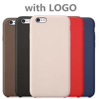For Apple Logo1:1 Original Design Official coque For iPhone 6 case for iphone 6s case leather Cover For iPhone 6 Plus cases
