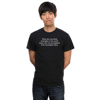 Incomplete Data People T-Shirt - Black,