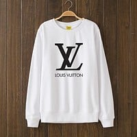 LV Louis Vuitton Woman Men Top Sweater Pullover