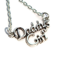 Daddys Girl Necklace ~ I Love You Jewelry, My Heart Belongs To Daddy, Daughter Jewellery,  Daughter Gift, Girls Necklace, Valentines Gift