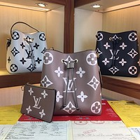 LV Louis Vuitton M44108,M44022 Gaston-Louis Vuitton  Women's Tote Bag Handbag Shopping Leather Tote Crossbody Satchel 26*26*17.5cm