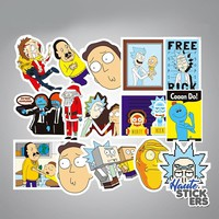22 Rick and Morty Sticker Pack