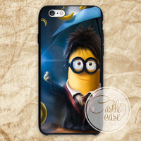 Minion Harry Potter iPhone 4/4S, 5/5S, 5C Series, Samsung Galaxy S3, Samsung Galaxy S4, Samsung Galaxy S5 - Hard Plastic, Rubber Case