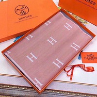 Hermes Women Fashion Cashmere Cape Scarf Scarves Shawl