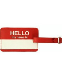 Flight 001 |  F1 Hello My Name Passport Wallet  - Passport Cases - All Products