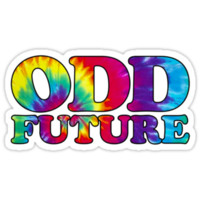 Odd Future Black Outline