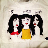 Selena Quintanilla Lisa Left Eye Lopes & Aaliyah by counterfake