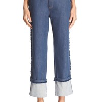 See By Chloe | Frayed Crop Jean | Nordstrom Rack