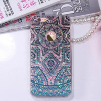 Mandala fashion pattern phone case for iphone 6 6s 6 plus 6s plus + Nice gift box 080902