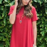 Hourglass Lilly 670MOLRED Game Day Dress