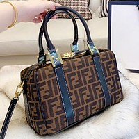 Fendi New fashion more letter canvas handbag shoulder bag crossbody bag handbag