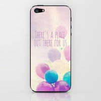 there's a place out there for us iPhone & iPod Skin by Sylvia Cook Photography
