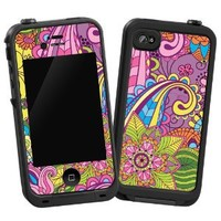 """Kaleidoscope """"Protective Decal Skin"""" for LifeProof iPhone 4/4s Case"""