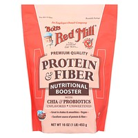 Bob's Red Mill - Protein And Fiber Nutritional Booster - 16 Oz - Case Of 4