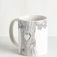 Quirky Beat of My Bark Mug by ModCloth