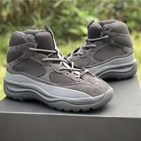 [Free Shipping ] Yeezy Desert Rat Boot Season 6 Graphite  YZ6MF6003-213 Military Running Shoes