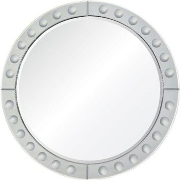 Quick Overview:Round Mirror Framed Mirror