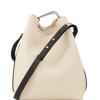 Quill Calfskin Bucket Bag, Powder - 3.1 Phillip Lim