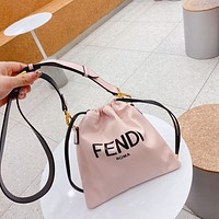 Fendi 2021 Women's Tote Bag Handbag Shopping Leather Tote Crossbody Satchel 0320